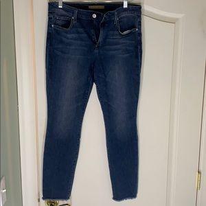 Joe's Jeans  skinny raw hem ankle jeans NWOT